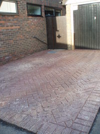 Driveway Cleaning Cornwall, Patio Cleaning Newquay image